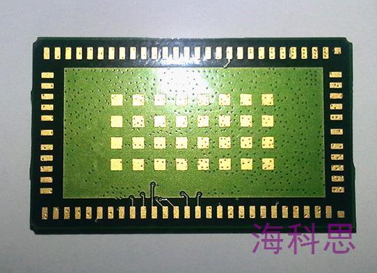 手机芯片模块平面度测量